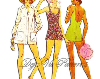 Vintage Swimsuits | Retro Swimwear & Bathing Suits