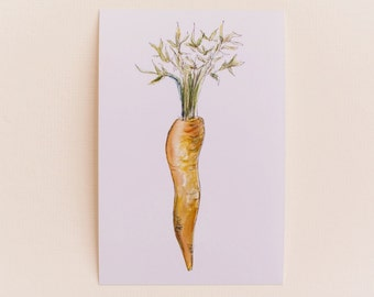 Carrot Print OR Any 1 Vegetable Print