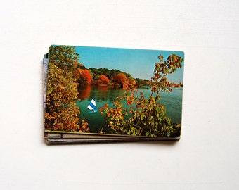 25 Massachusetts Vintage Postcards, Blank - Wedding, Scrapbook, Guest Book, Invitation