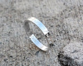 Coordinate Ring, Personalized Coordinate Ring in Sterling Silver