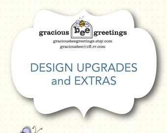 Design Upgrades - Design Extras
