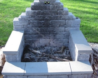 Outdoor Fireplace Or Firepit DIY ...