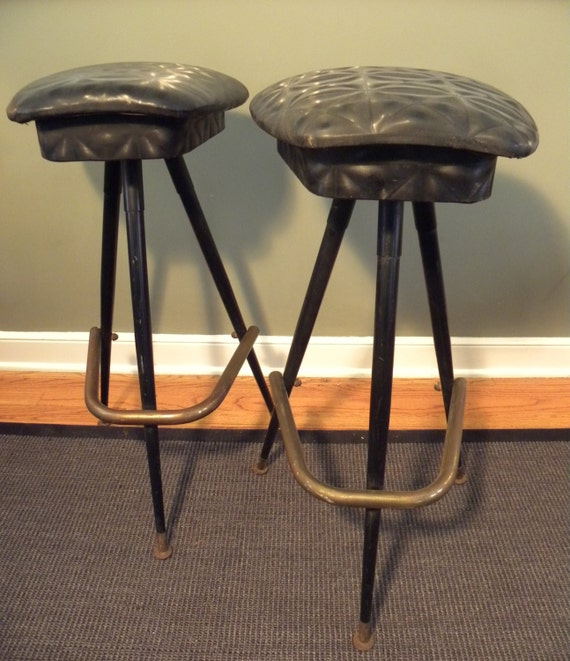 Vintage Mid Century Saddle Style Bar Stools : il570xN591712315q8ps from etsy.com size 570 x 661 jpeg 85kB