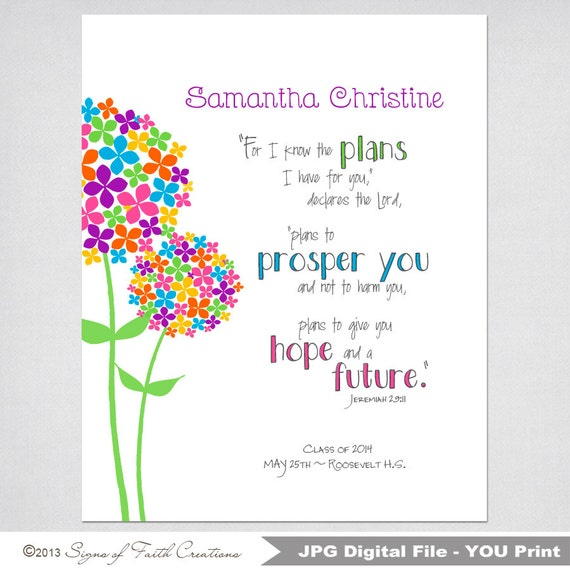 Catholic Confirmation Quotes From The Bible: Personalized Confirmation Baptism Graduation Gift Teen