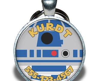 Pet ID Tag - Star Wars R2-D2 *Inspired*