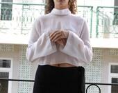 White see-throught blouse