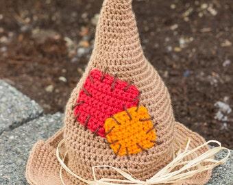 Crochet Scarecrow Etsy
