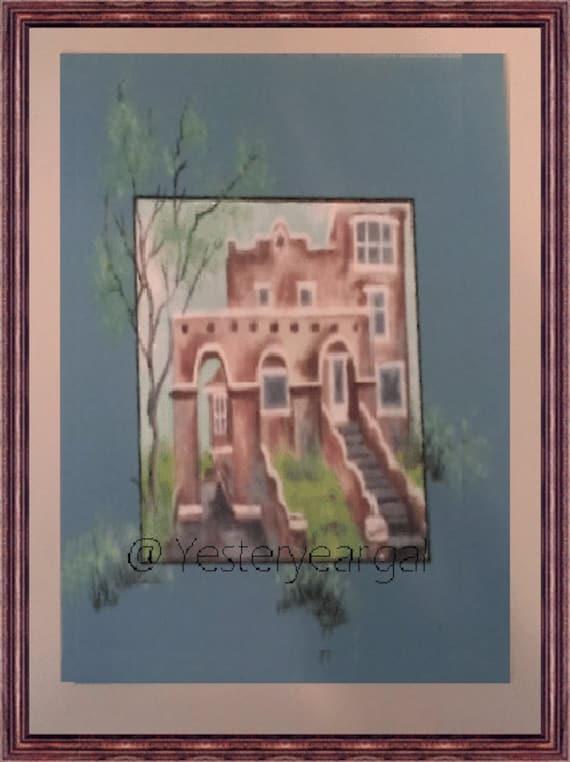 Victorian House Brenwood Manor  11 X14