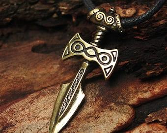 Bronze Amulet of Talos Video Game 3D Pendant Necklace