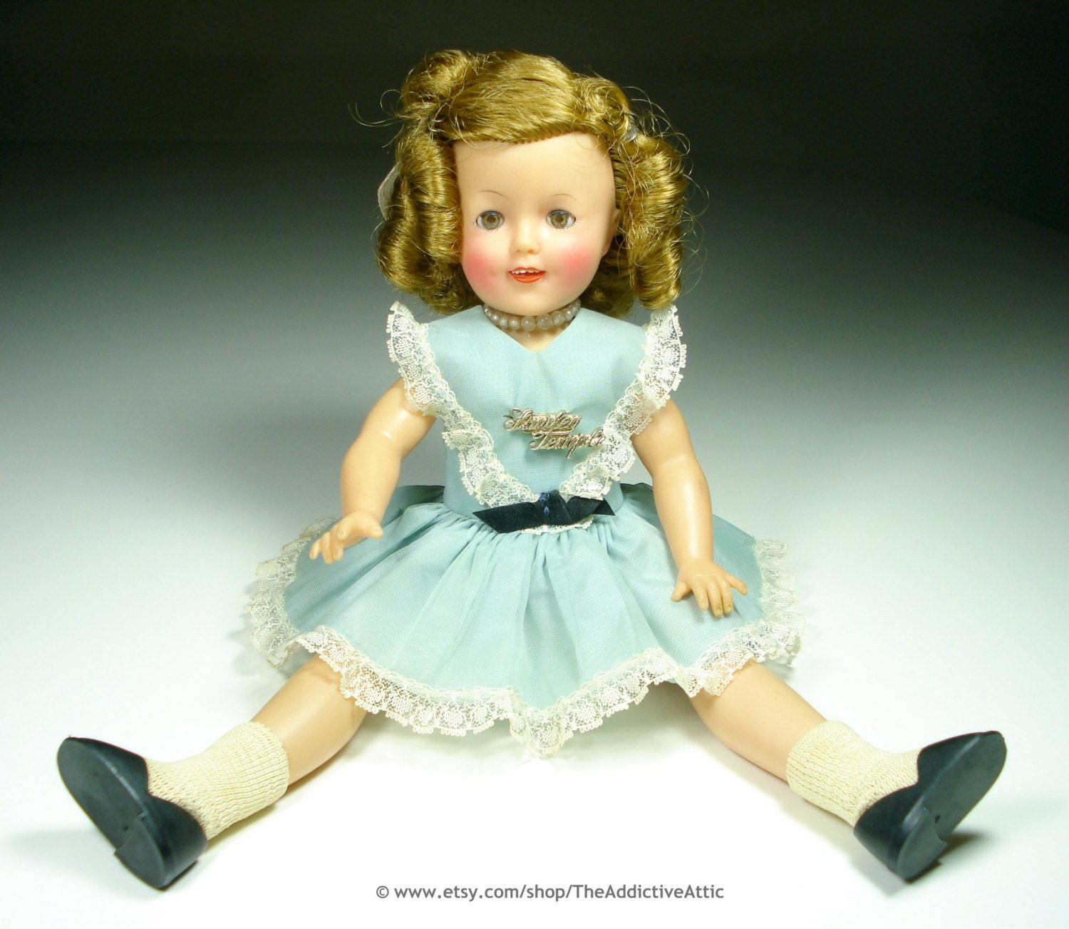 Shirley Temple Doll By Ideal With Rare Accessories Amazing