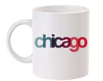 Chicago Mug   Chicago Coffee Mug   Made In Chicago Mug   Chicago Wedding   Chicago Gift