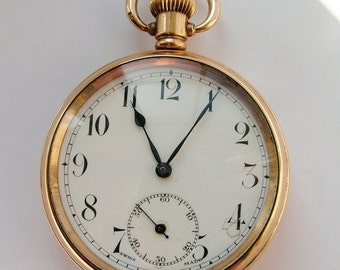 Antique 1910s Visible pocket watch