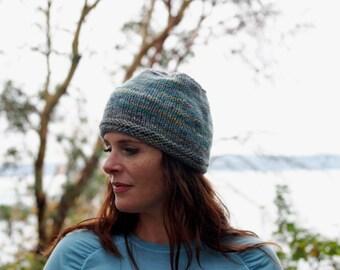 Merino Wool Hand-Knit Hat