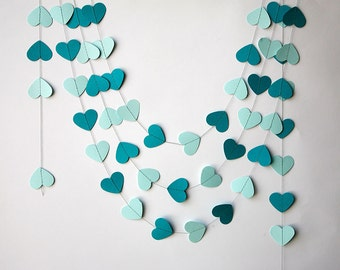 Nice Wedding Heart Garland, Wedding Decor, Bridal Shower Garland, Wedding  Decorations, Bridal Shower