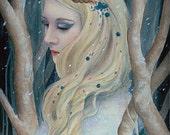 Winter Queen A4 print.