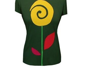 """Shirt """"Flower"""""""