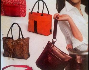 New Look By Simplicity 6425  Handbags  UNCUT