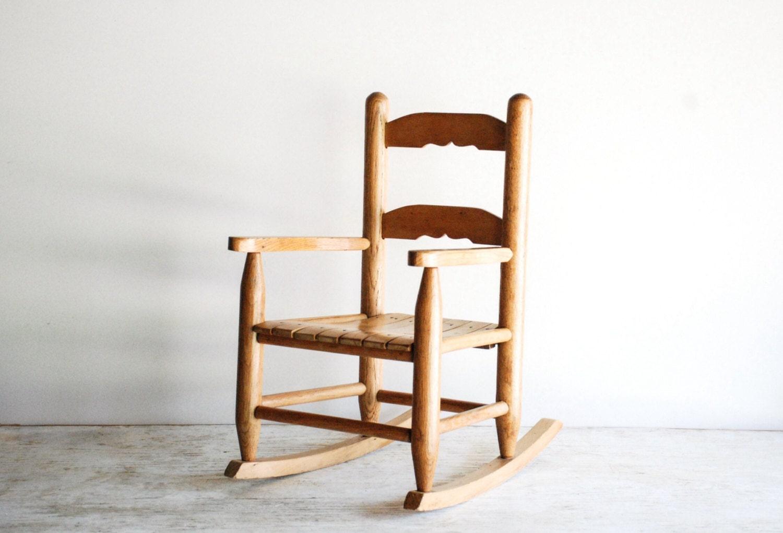 Child S Rocking Chair Child S Wooden Chair Kids