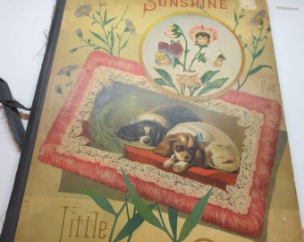 1883 Sunshine For Little Children Book