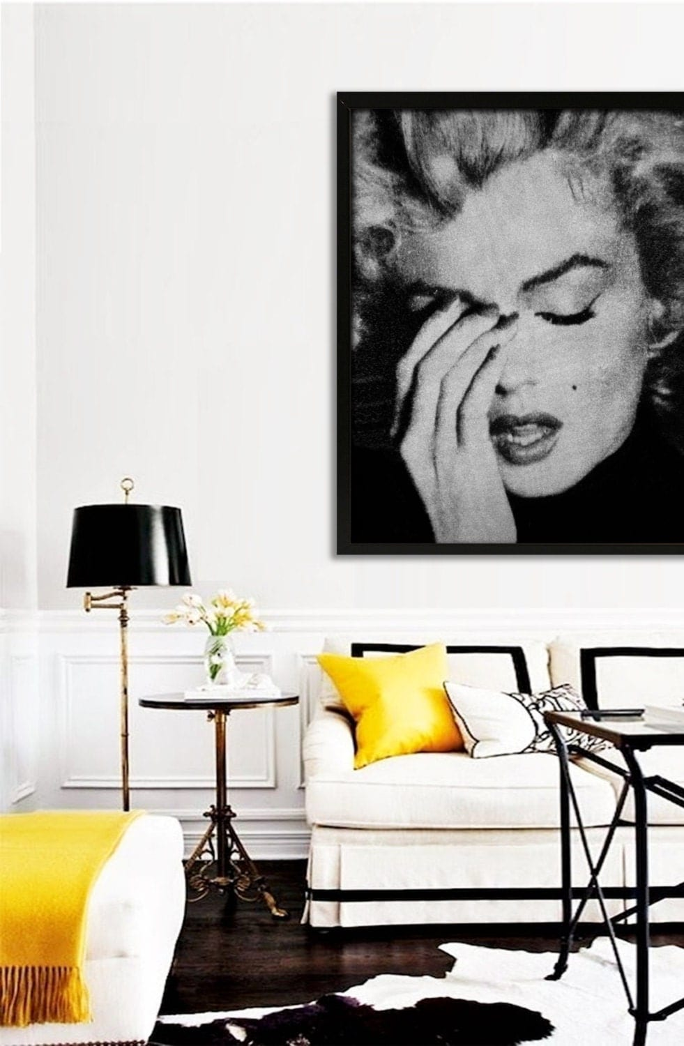 Marilyn Monroe Poster PRINTABLE FILE available in 7 sizes