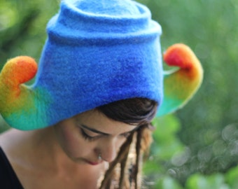 Unique handmade felt hats