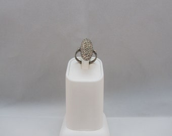 Sterling Silver Ring Band Ring Size 7 1/4