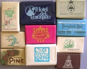 California Vintage Travel Soap Hotel Souvenirs - Camay Cashmere  Dial Lux Airbnb