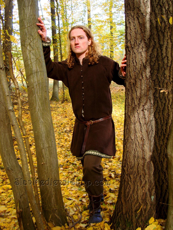 Early Medieval Viking Coat Noble Coat Form Birka Historical