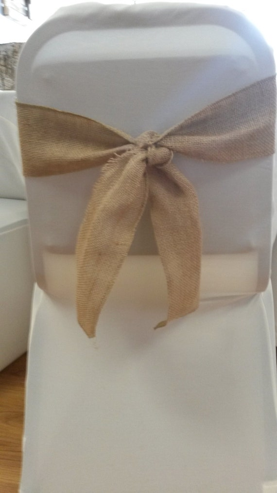 Short Burlap Sashes Great For A Tie Instead By