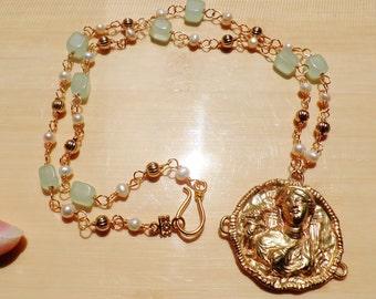 Example of Custom Reproduction Classical Jewelry - Handmade