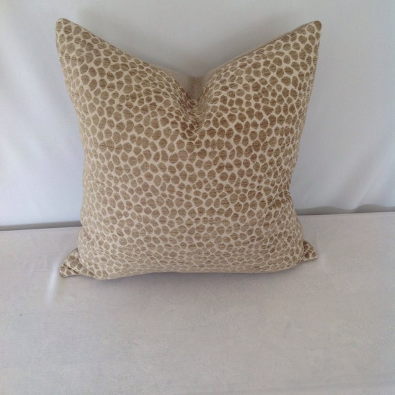 Animal Print Pillow Covers : Animal Print Chenille Pillow Cover by FeniasHomeDecor on Etsy