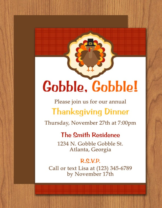 Thanksgiving turkey invitation editable template microsoft for Free thanksgiving templates for word