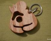 FREE US SHIPPING Hand Cut Wood Toddler Breastfeeding Awareness Keychain