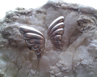 Sterling Silver Butterfly Wings On Your Ears!