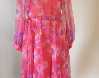 Beautiful Chiffon Spring Dress