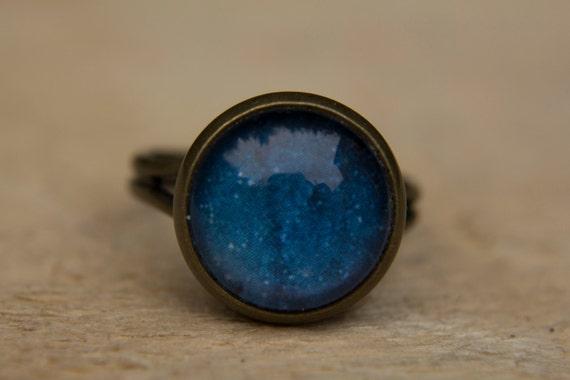 Blue Galaxy Ring Solar System Ring Planet RingUniverse