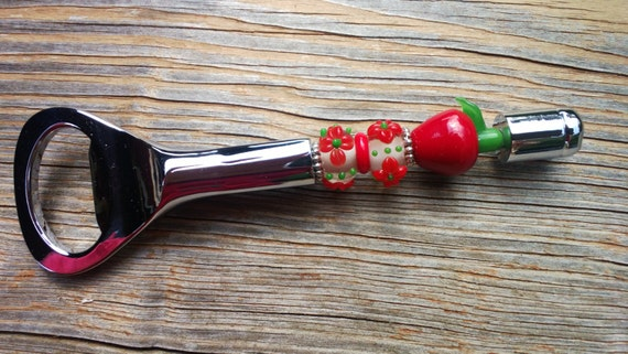 Unique Teacher Gift Idea, Apple Bottle Opener, Teacher Appreciation Gift, Apple Kitchen Home Decor