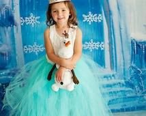 7ft x 7ft Frozen Backdrop - Ice Castle Backdrop - Photo Backgrounds for Christmas - Item 2148