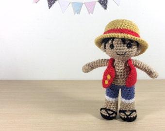 Amigurumi One Piece : Sanji Amigurumi Crochet Plush Doll by 53Stitches on Etsy