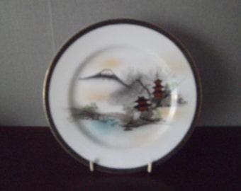 Two side plates sandwich plates of fuji china