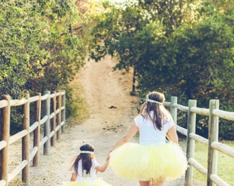 Mommy and Me Matching Tutu Set - The perfect addition to your next phootshoot or party!!