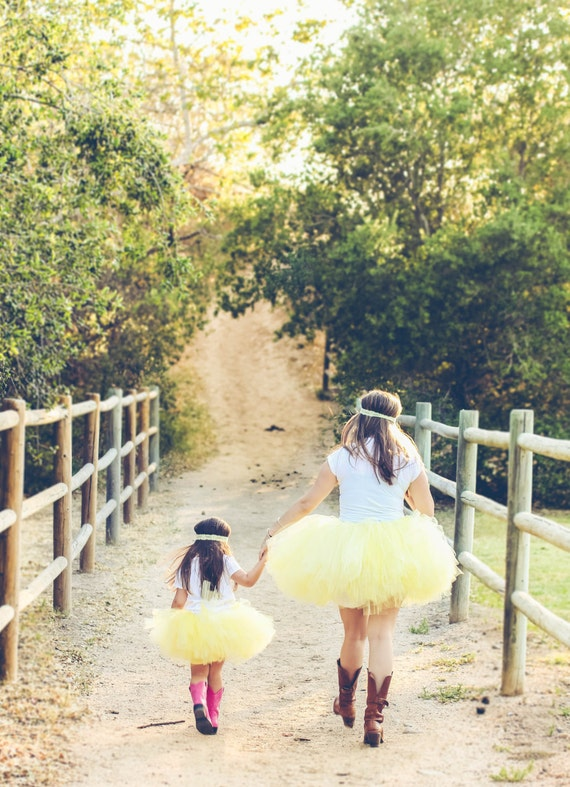 fun baby photo shoot ideas - Mommy and Me Matching Tutu Set The perfect addition to your