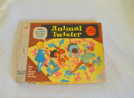 Board Games With Animals Animal Twister Board Game