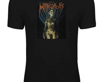 Metropolis - Classic SciFi Movie Womens T-shirt