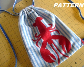 PATTERN Rope Backpack