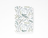 Medium Illustrated Journal | Hand Illustrated Floral Notebook : The Garden Wreath Collection