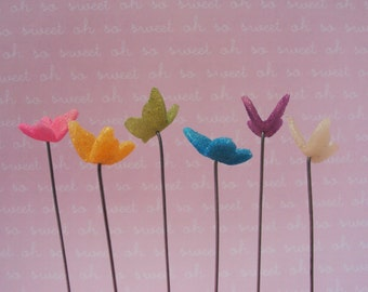 Choose Your Own Color Miniature Butterfly for Fairy Garden, Miniature Garden, Fairies, Faeries