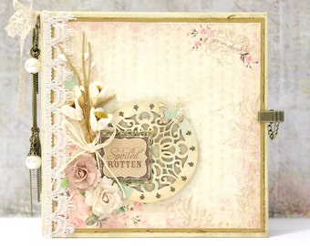 Grandmother Scrapbook Album, Grandparents Album, Brag Book, Grandparents Gifts, Vintage Mini Album, Mini Album, READY TO SHIP