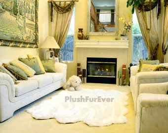 Promo 50 OFF 5 X 6 Faux Fur Rug Sheepskin Sixto Pelts In