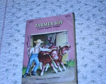 Farmer boy by Laura Ingalls Wilder ~ Little house book ~ Laura ingalls wilder